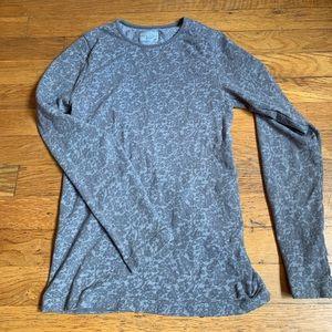 Athleta long sleeve workout shirt